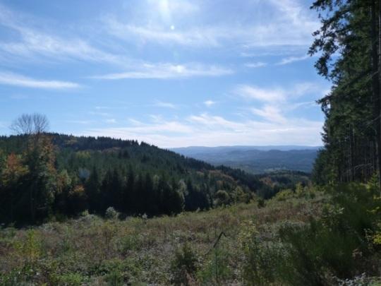 View over Senouire valley