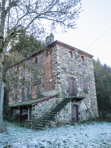 Old mill at Domarget