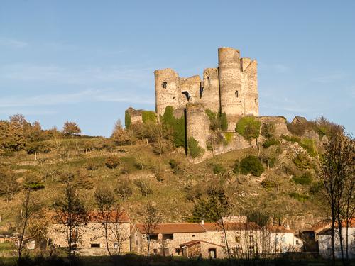 Domeyrat Village and Chateau
