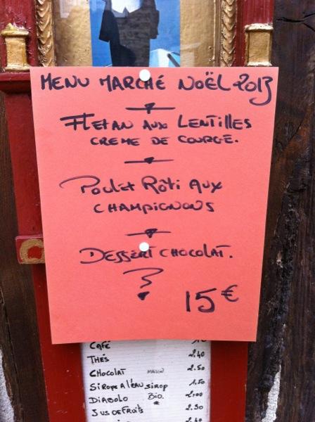 court la vigne marche noel menu