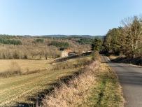 farmhouse, senouire valley